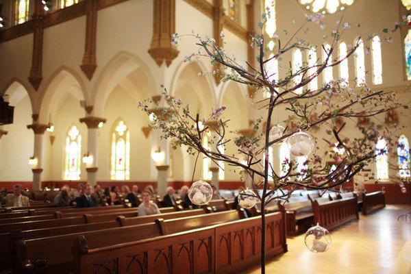 Southern Weddings Cherry Blossom Decor